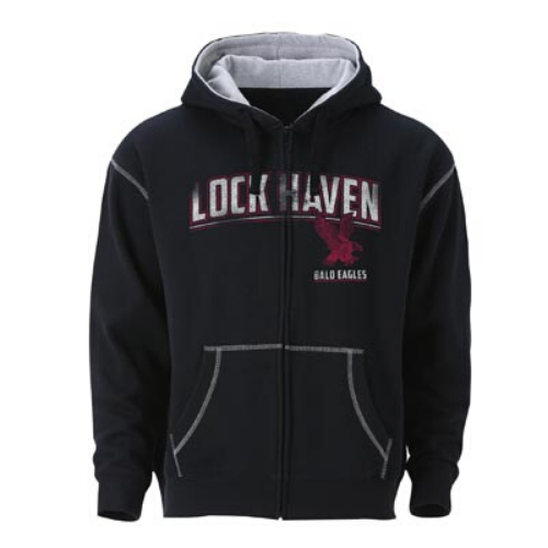 Image For Full Zip Hooded Sweatshirt-Additional Color Available