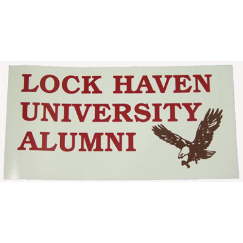 Image For Lock Haven University Alumni Decal