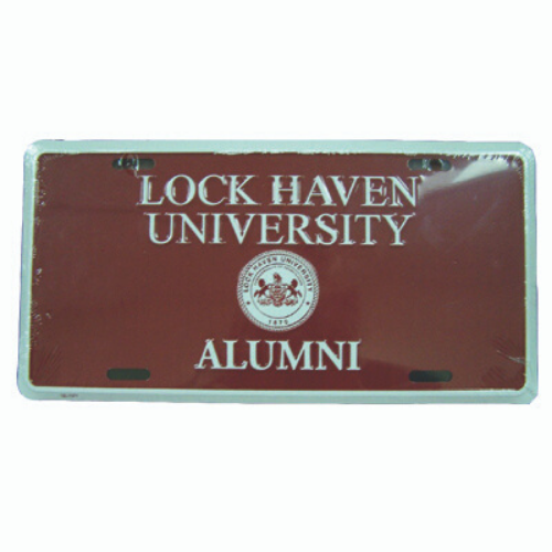 Image For Alumni License Plate
