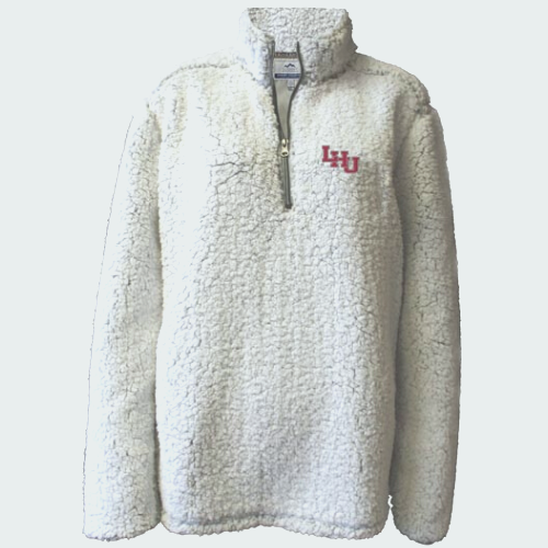 Image For 1/4 Zip Sherpa Pullover