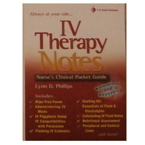 Image For IV Therapy Notes