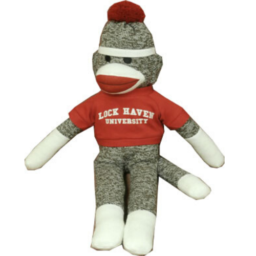 Image For Life Sized Plushland Sock Monkey