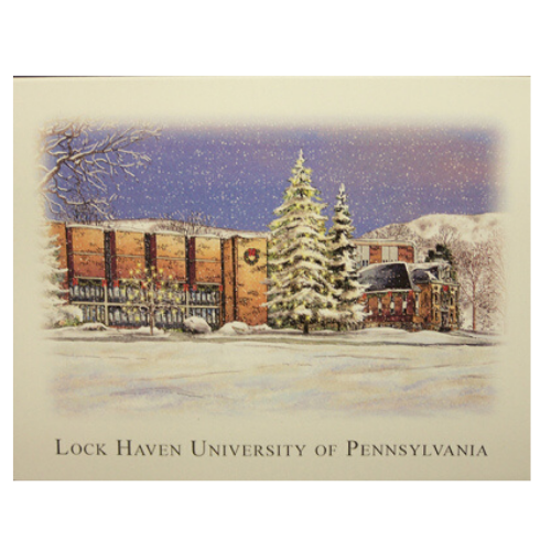 Image For Lock Haven University Seasonal Note Cards
