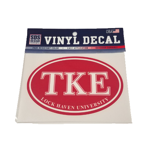 Image For TKE Oval Decal