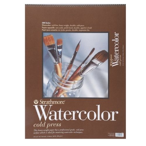 Image For 18X24 Strathmore Watercolor Pad